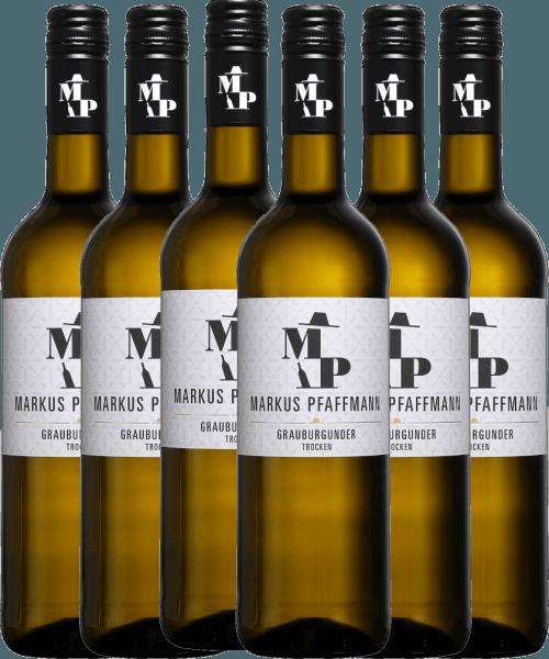 6er Vorteils-Weinpaket - MP Grauburgunder trocken 2020 - Markus Pfaffmann