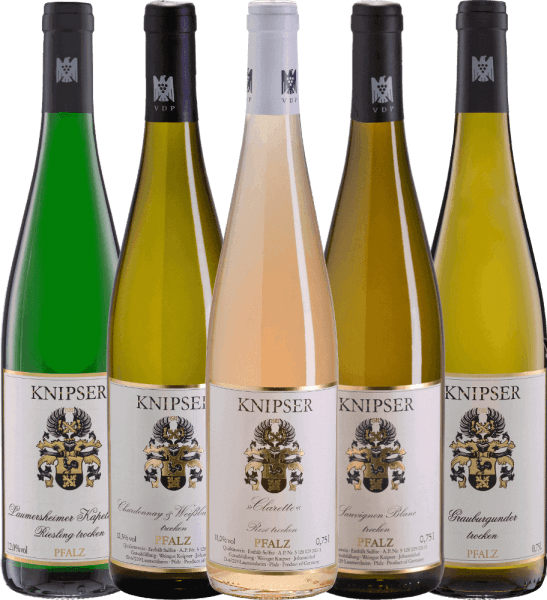 5-pack get-to-know - Wines from Weingut Knipser