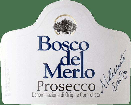 Prosecco Spumante Extra Dry 2019 - Bosco del Merlo von Bosco del Merlo