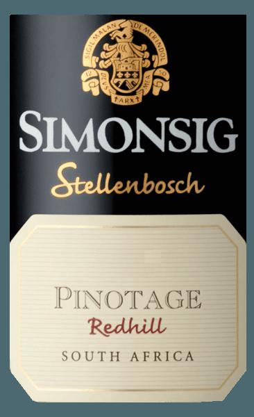 Redhill Pinotage 2017 - Simonsig von Simonsig