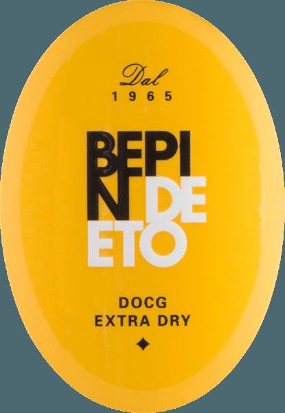 Prosecco Spumante Millesimato extra dry Valdobbiadene DOCG 2019 - Bepin de Eto von Bepin de Eto