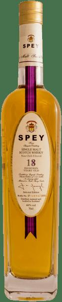 Spey 18 years old Single Malt Scotch Whisky 0,2 l - Speyside Distillery