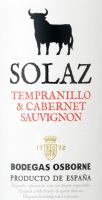 Vorschau: Tempranillo Cabernet Sauvignon 2019 - Osborne Solaz
