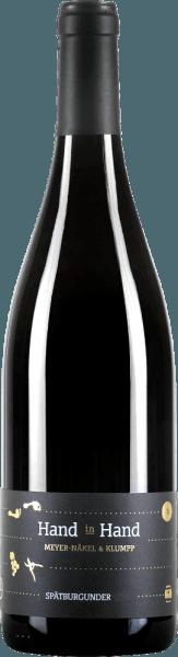 Der Spätburgunder Hand in Hand von Meike Näkel & Markus Klumpp ist ein perfekt ausbalancierter Rotwein mit Substanz, Tiefe und Eleganz. Das Bouquet dieses Weines umschmeichelt die Nase mit Aromen von Sauerkirsche, Johannisbeere und Pflaume. Eine dezente Röstaromatik und zarte Nuancen von Kakao, Nelke und Wachholder runden das Aromenspektrum ab. Feine Nuancen von Kräutern wie Liebstöckel und frischem Lorbeer fügen diesem Pinot noch weitere Komplexität hinzu. Am Gaumen beweist der Näkel & Klumpp Hand in Hand Spätburgunder durch seine feine Tanninstruktur und lebendige Säure großes Trinkvergnügen. Ein griffiger Spätburgunder, wie ihn vor allem die Badenser hervorzubringen vermögen, ein eleganter Spätburgunder, wie er den Meistern von der Ahr zu eigen ist. Vinifikation des Spätburgunders Hand in Hand von Meike Näkel & Markus Klumpp Die Trauben für diesen reinsortigen Spätburgunder von alten Reben wachsen auf Löss- und Lehmböden mit hohem Kalkanteil, was für Mineralität und Tiefe, vor allem bei Rotweinen sorgt. Nach der selektiven Handlese werden die Trauben traditionell auf der Maische vergoren und für 10 Monate in Barriques von der Ahr ausgebaut. Mit ihren drei Hand-in-Hand Weinen haben Meike Näkel und Markus Klumpp nicht nur ihrer Liebe ein Denkmal gesetzt, sondern auch 2 Weine und einen Sekt geschaffen, der jedem Beschenkten ein Gefühl von Verbundenheit gibt. Denn Hand in Hand geht es sich schließlich am besten durchs Leben. Speiseempfehlung für den Spätburgunder Hand in Hand Genießen Sie diesen trockenen Rotwein aus Baden zu Gerichten von Wild wie Reh oder Wildschwein oder auch zu Rinderbraten oder Kurzgebratenem vom Rind.