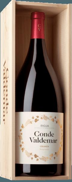 Conde Valdemar Crianza Rioja DOCa 5,0 l Jeroboam in OHK 2016 - Bodegas Valdemar von Bodegas Valdemar