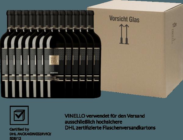 12er Vorteils-Weinpaket - Since 1913 Primitivo Puglia IGT 2016 - Torrevento von Torrevento