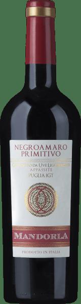 Primitivo Negroamaro da Uve Leggermente Appassite Puglia IGT 2019 - Mandorla