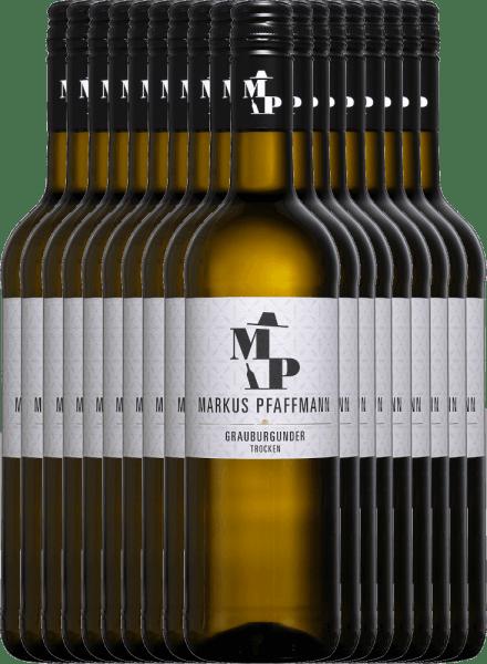 18er Vorteils-Weinpaket - MP Grauburgunder trocken 2020 - Markus Pfaffmann