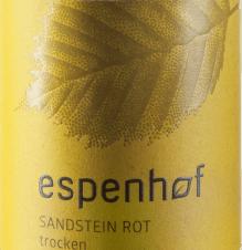 Sandstein rot Cuvée 2017 - Weingut Espenhof von Weingut Espenhof