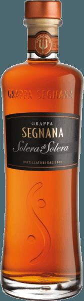 Der Grappa Solera di Solera von Segnana ist ein Cuvée verschiedener feiner Weintrester aus dem Trentino, welcher nach der schonenden Destillation seine Bernsteinfarbe durch die Lagerung in Eichenfässern erhält. Durch sein feines Vanillearoma passt er hervorragend zu einer guten Zigarre oder feiner Schokolade.