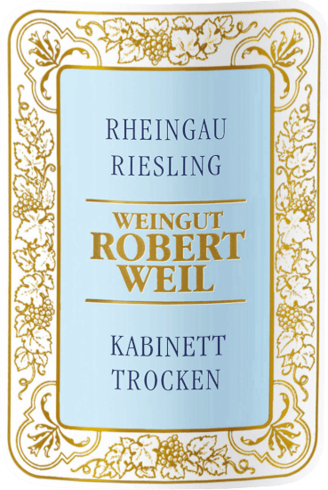 Rheingau Riesling Kabinett trocken 2019 - Robert Weil von Weingut Robert Weil
