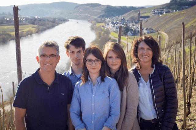 Familie Haag vom Weingut Schloss Lieser