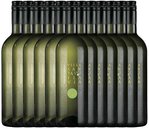 12er Vorteilspaket Pinot Grigio 1,0 l 2020 - Villa Santa Flavia