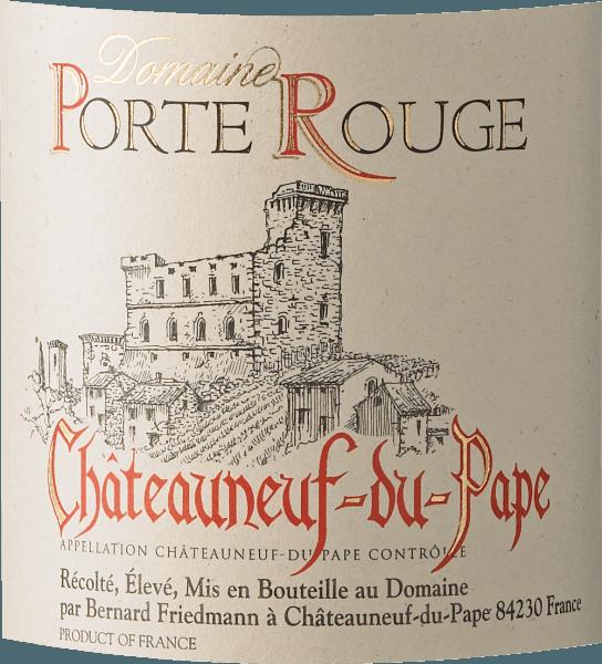 Chateauneuf-du-Pape AOC 2018 - Porte Rouge von Porte Rouge