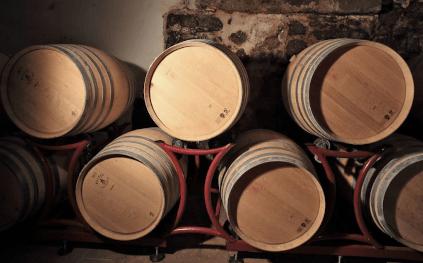 Wooden barrels from Abtei Muri-Gries