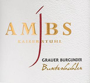 Buntenhahlen Grauer Burgunder trocken 2017 - Josef Ambs von Weingut Josef Ambs