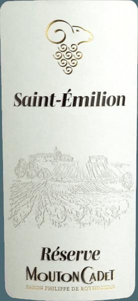 Mouton Cadet Réserve Saint-Èmilion AOC 2017 - Baron Rothschild von Baron Philippe de Rothschild SA
