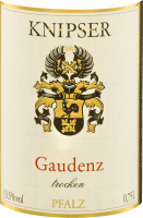 Vorschau: Cuvée Gaudenz trocken 2016 - Knipser