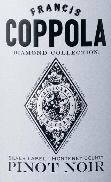 Diamond Collection Silver Label Pinot Noir 2017 - Francis Ford Coppola Winery von Francis Ford Coppola