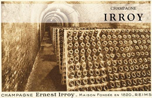 In den Kellern von Champagne Irroy