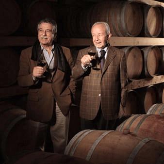 In the cellar of Cantina di Santadi