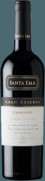Carmenère Gran Reserva Valle del Cachapoal DO 2018 - Santa Ema