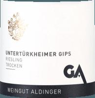 Vorschau: Untertürkheimer Gips Riesling trocken 2019 - Aldinger