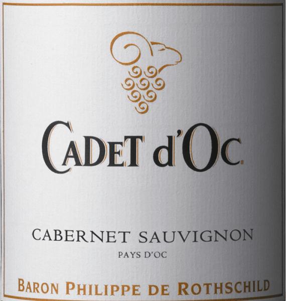 Cadet d'Oc Cabernet Sauvignon 2015 - Baron Phillippe de Rothschild von Baron Philippe de Rothschild SA