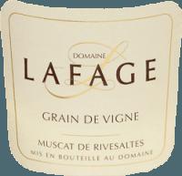 Preview: Grain de Vigne Muscat de Rivesaltes 2019 - Domaine Lafage