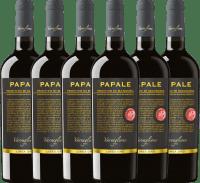 6er Vorteils-Weinpaket - Papale Linea Oro Primitivo di Manduria 2017 - Varvaglione