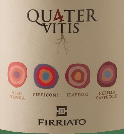 Quater Rosso Sicilia IGT 2015 - Firriato von Firriato
