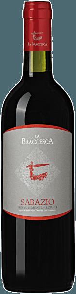 Der Sabazio Rosso di Montepulciano DOC von La Braccesca zeigt sich intensiv Rubinrot mit violetten Tendenzen. An der Nase überraschen frische fruchtige und blumige Noten, vor allem von Veilchen und roten Johannisbeeren. Am Gaumen gefällt der rote Sabazio aus Montepulciano durch seinen feinen, eleganten und aromareichen Geschmack, seine lebhafte Frische, seine fruchtigen Noten sowie runde, süße Tannine, die einen harmonischen und nachhaltigen Eindruck hinterlassen. Das Finale ist lang und ansprechend. Vinifikation des Sabazio Rosso di Montepulciano DOC von La Braccesca Der Name des Weins erinnernt an einen Mönch der Abtei von Omntepulciano, der allgemein Sabazio genannt wurde und der als erster im Mittelalter Hinweise zum Weinbau in der Region gab. Die typische Frische der autochtonen Rebsorte Sangiovese verbindet sich in diesem Wein mit der einladenden Fruchtigkeit des Merlot, zusammen sind sie Sinnbild für das alte Weinbaugebiet Montepulciano. Die Weinlese der Sangiovese und Merlot-Trauben erfolgt nacheinander Ende September, Anfang Oktober, je nach Verlauf des Reife. Im Weinkeller werden die Trauben entrappt und sanft gepresst, der Most wird dann in Edelstahltanks gefüllt, in denen die tempreaturkontrollierte Gärung stattfindet. So werden die aromatischen Eigenschaften der Rebsorten am besten erhalten. Nach der Trennung vom Trester kommt der Wein in Edelstahltanks für die malolaktische Gärung und den anschließenden Ausbau über vier Monate. Im Frühjahr des Folgejahres wird er abgefüllt und kommt in den Verkauf. Speiseempfehlungen für den Sabazio Rosso di Montepulciano DOC von La Braccesca Dieser herrliche, junge Rotwein aus der südlichen Toskana ist ein perfekter Begleiter für jeden Tag, zu Pasta, Pizza, Grillpartys, hellel und rotem Fleisch, mittelreifen Käsesorten.