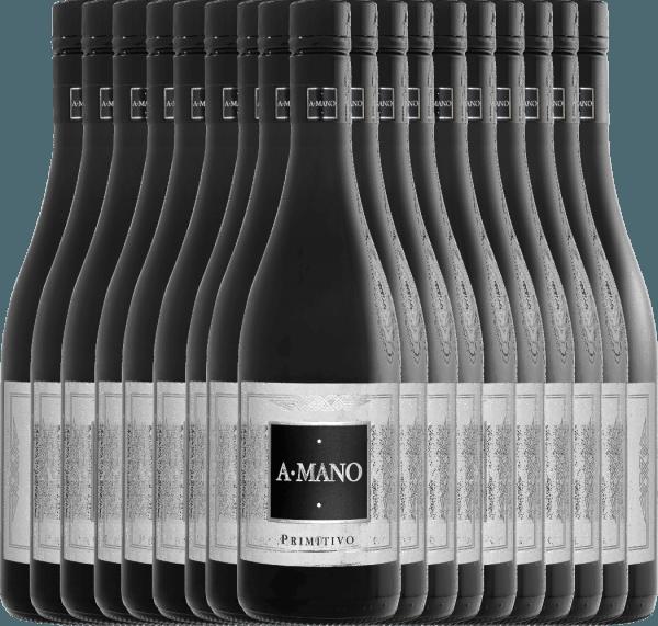 18er Vorteils-Weinpaket - Primitivo 2019 - A Mano