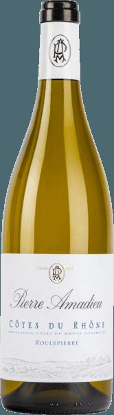 Côtes Du Rhône Roulepierre Blanc AOC 2019 - Pierre Amadieu
