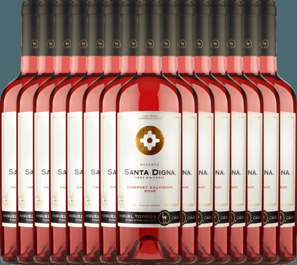 15er Vorteils-Weinpaket Santa Digna Rosé 2021 - Miguel Torres Chile
