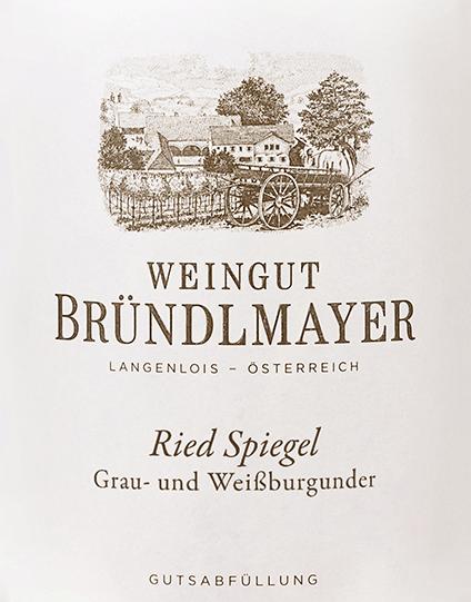 Grau- und Weißburgunder Langenloiser Spiegel 2017 - Bründlmayer von Weingut Bründlmayer