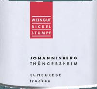 Vorschau: Scheurebe Thüngersheimer Johannisberg 2018 - Bickel-Stumpf