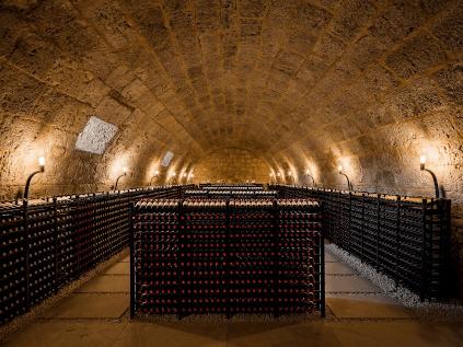 In the cellar of Abadia Retuerta