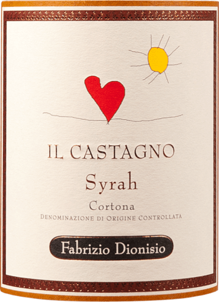 Castagno Cortona Syrah 2015 - Fabrizio Dionisio von Fabrizio Dionisio