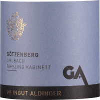 Vorschau: Uhlbacher Götzenberg Riesling Kabinett 2018 - Aldinger