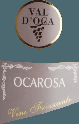Ocarosa Frizzante Rosato Secco IGT - Val D'Oca von Val D'Oca