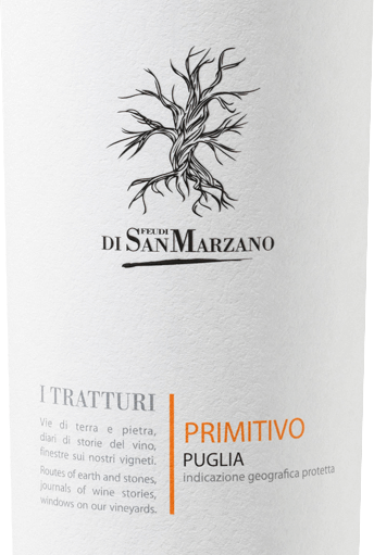 I Tratturi Primitivo 2019 - Cantine San Marzano von Cantine San Marzano