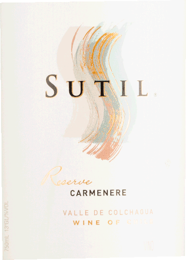 Carmenère Reserve Colchagua Valley DO 2018 - Sutil Family Wines von Sutil Family Wines