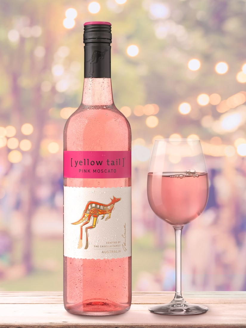 Pink Moscato   Yellow Tail