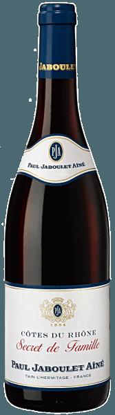 Der Secret de Famille Rouge von Domaine Paul Jaboulet Aîné beeindruckt mit einer tiefroten Robe und herrlich schimmernden Akzenten. Das elegant fruchtige Bouquet ist geprägt von roten Früchten (Beeren) und Gewürzen. Der gut strukturierte Geschmack wartet mit seidigem, reifem und gerundetem Tannin sowie einer feinen Beerenwürze im Abgang auf. Vinifikation des Secret de Famille Rouge von Paul Jaboulet Die Trauben für die Cuvée werden bei voller Reife von Hand gelesen. Für die volle Frucht und Farbe durchläuft der Grenache und der Syrah eine Maischestandzeit sowie Gärung. Anschließend werden wird dieser Rotwein im Edelstahltank ausgebaut. Speiseempfehlung zur Rotweincuée vonDomaine Paul Jaboulet Aîné Wir empfehlen ihn zu gegrilltem oder gebratenem Fleisch, zu pikanten Eintopfgerichten und gereiftem Käse.
