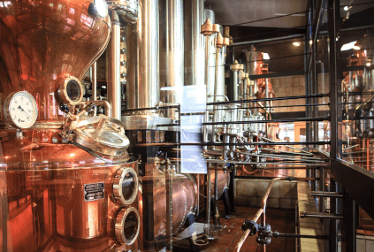 Distilling kettles at Ziegler