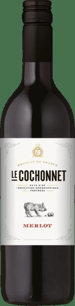 Le Cochonnet Merlot 1,0 l 2018 - Vignerons de la Vicomté von Vignerons de la Vicomté