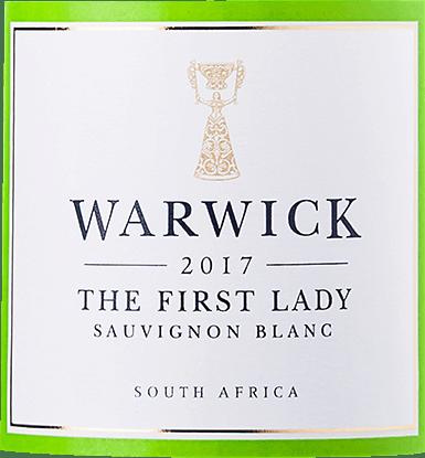 The First Lady Sauvignon Blanc 2019 - Warwick Estate von Warwick Estate