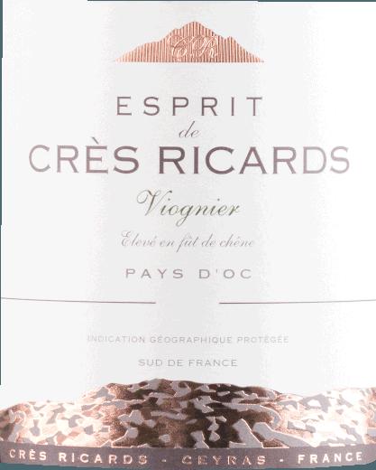 Viognier 2019 - Esprit de Crès Ricards von Domaine Paul Mas