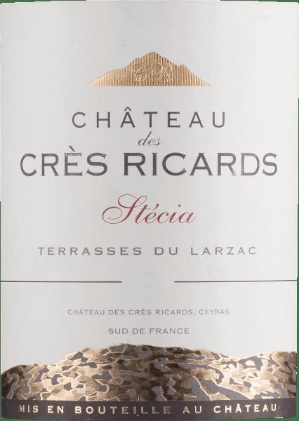 Stécia Terrasses du Larzac AOP 2018 - Château des Crès Ricards von Domaine Paul Mas